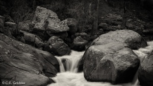 St Vrain Canyon Cascade #1