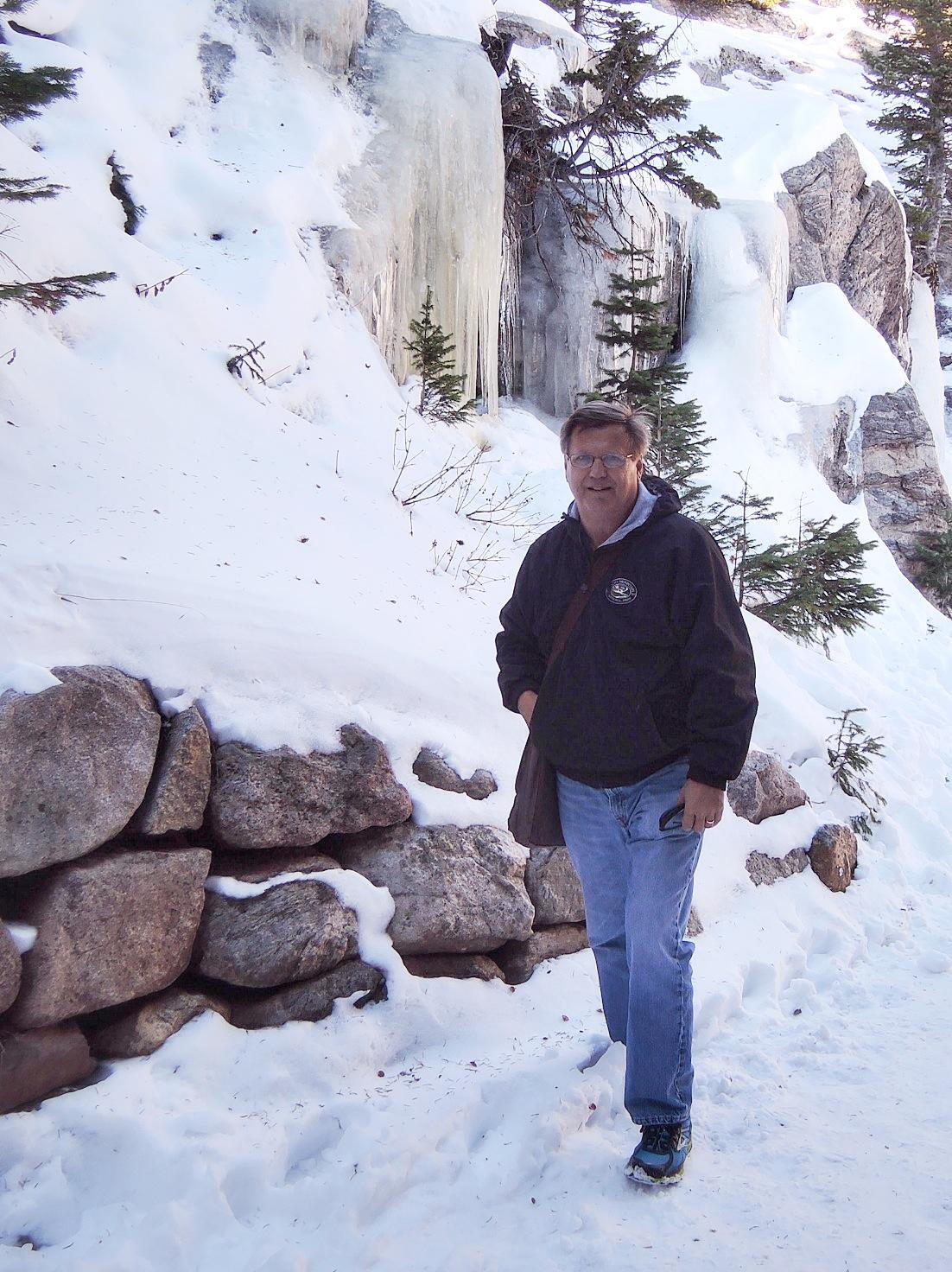 Craig Getchius at Bear Lake